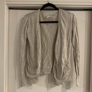 Abound Cardigan S Cream Long Sleeve Sweater
